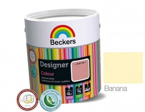 Beckers Designer Colour Banana 2,5L