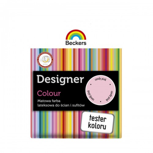 BECKERS DESIGNER COLOUR CANDY PINK TESTER 50ML