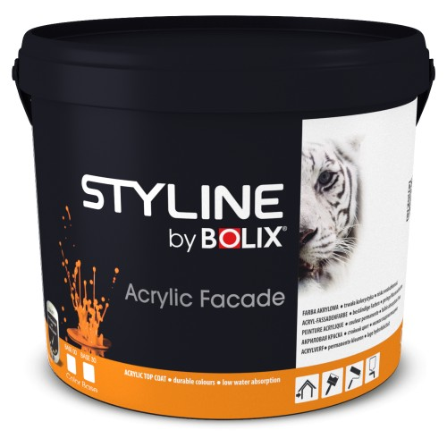 STYLINE BOLIX ACRYLIC FACADE COLOR BASE 30 2,7L
