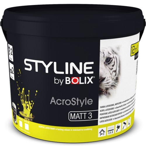 STYLINE BOLIX ACROSTYLE SUPER COLOR BASE 00 0,9L