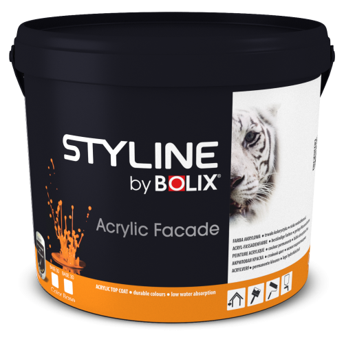 STYLINE BOLIX SILICONE FACADE COLOR BASE 00 2,7L