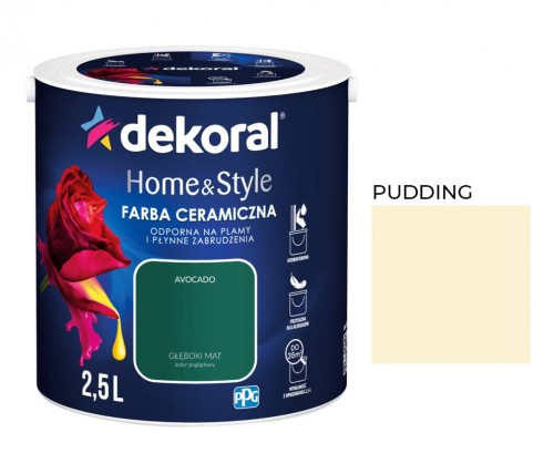 Dekoral Home&Style Pudding 2,5l