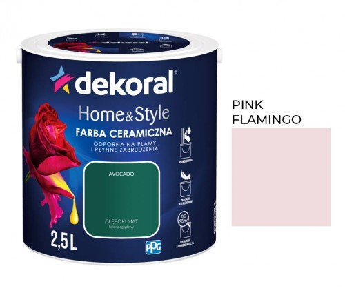 Dekoral Home&Style Pink Flamingo 2,5l