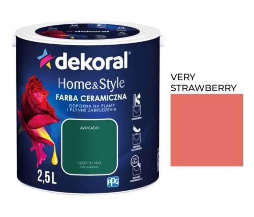 Dekoral Home&Style Very Strawberry 2,5l