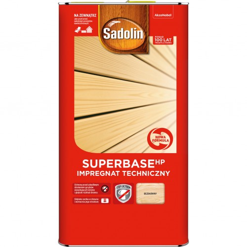 Sadolin SUPERBASE HP 5L Impregnat Do Drewna