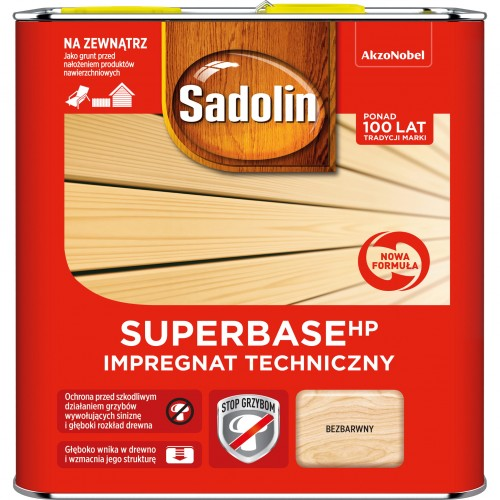 Sadolin SUPERBASE HP 2,5L Impregnat Do Drewna