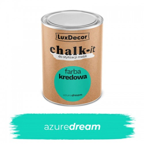 LuxDecor Farba Kredowa Chalk-It Azure Dream 0,75 L