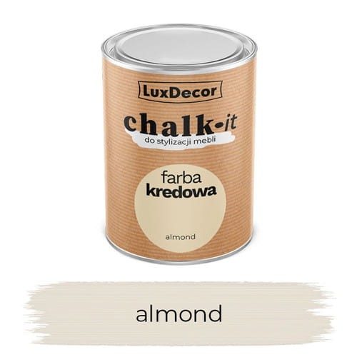 LuxDecor Farba Kredowa Chalk-It Almond 0,75 L