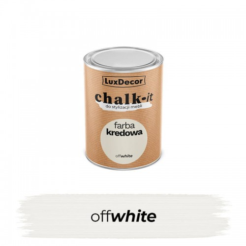 LuxDecor Farba Kredowa Chalk-It Offwhite 125 ML