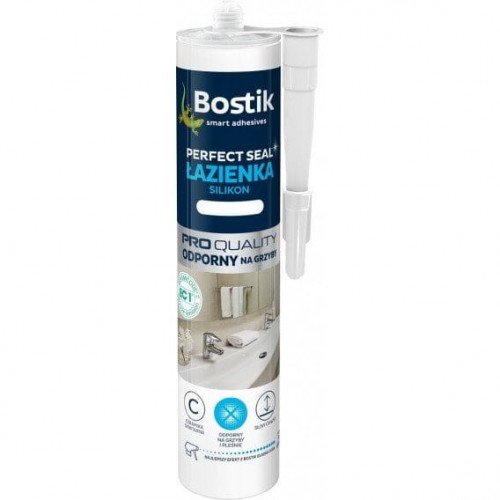 Bostik Perfect Seal Łazienka Silikon Bezbarwny 280Ml