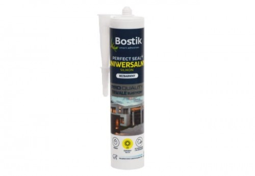 Bostik Perfect Seal Uniwersalny Silikon Bezbarwny 280ml
